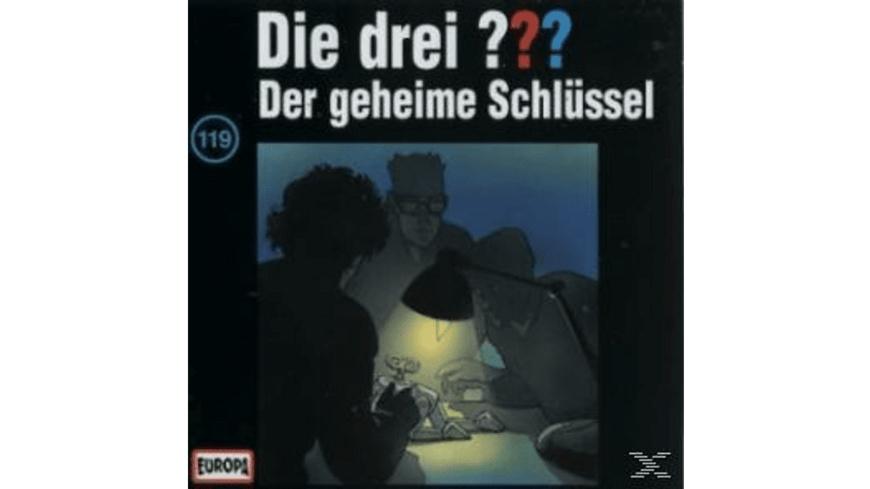 Die drei ??? 119: Der geheime Schlüssel - 1 CD - Kinder/Jugend