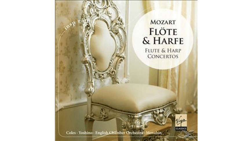 Coles, Yoshino, Menuhin, Eco - Mozart: Flöte & Harfe - (CD)
