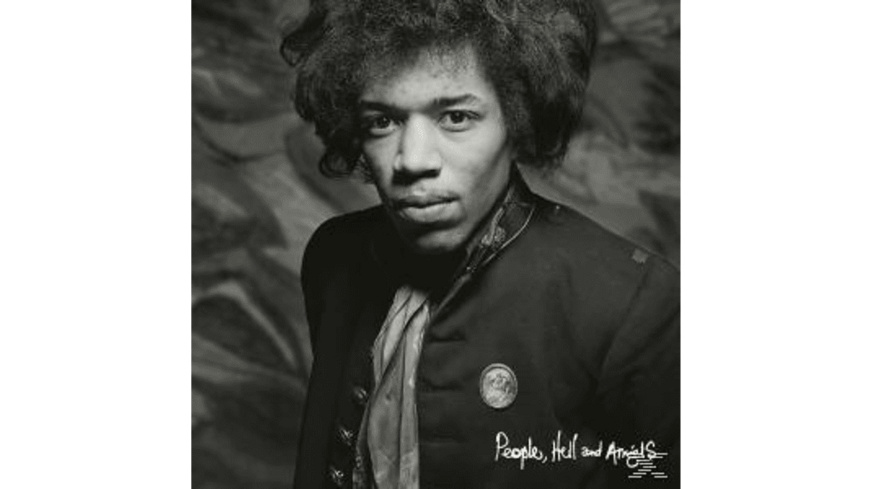 Jimi Hendrix - PEOPLE,HELL & ANGELS - (CD)