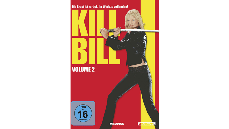 Kill Bill - Vol. 2 - (DVD)