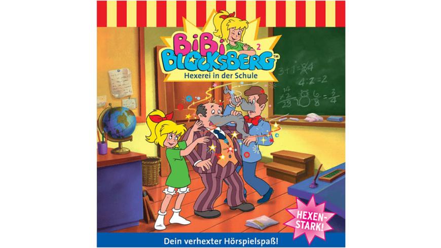 Folge 002: Hexerei In Der Schule - 1 CD - Kinder/Jugend