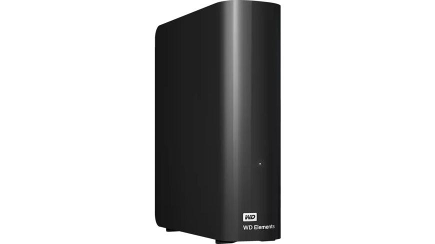 WD Elements™ Desktop, 8 TB, 3.5 Zoll, Festplatte, Schwarz