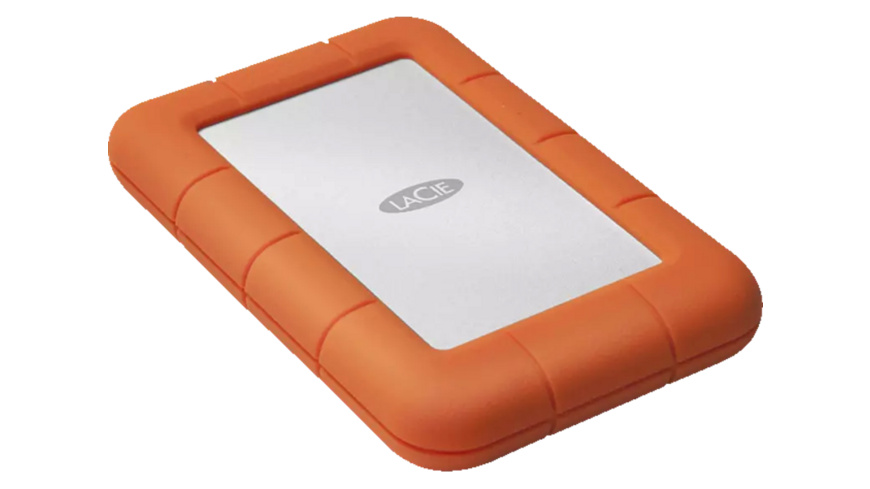 LACIE Rugged Mini, 2 TB HDD, 2.5 Zoll, extern