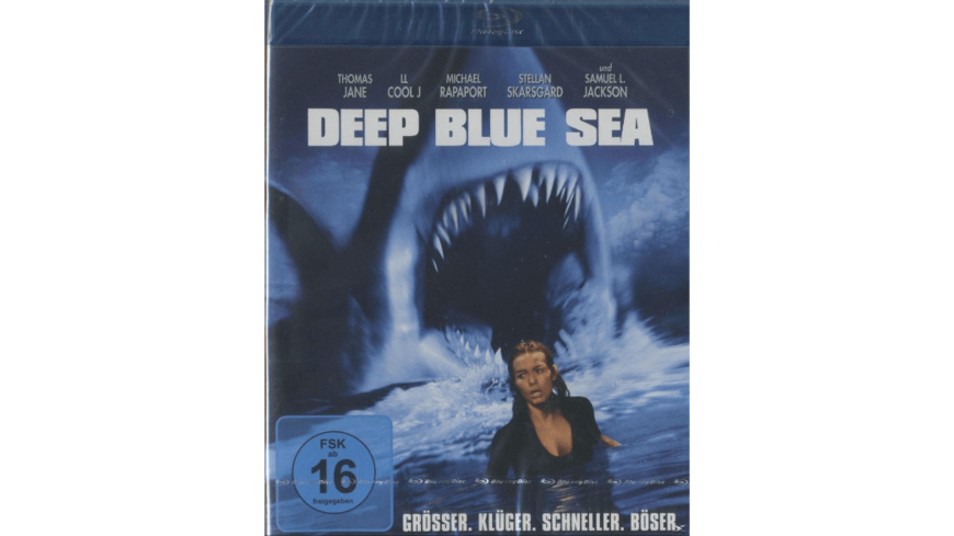 Deep Blue Sea - (Blu-ray)