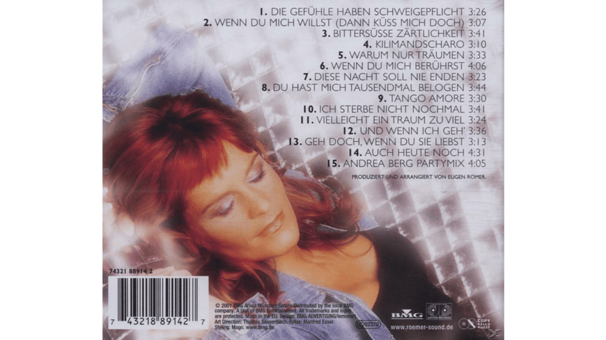 Andrea Berg - BEST OF - (CD)