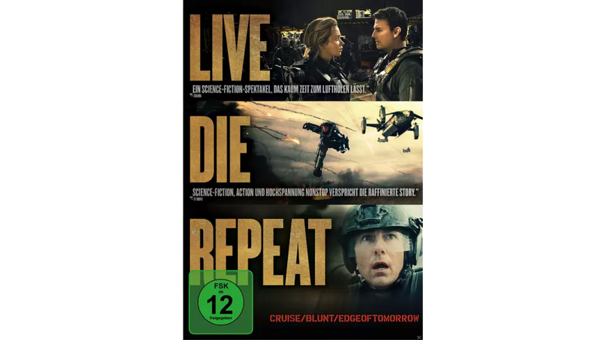 Edge of Tomorrow - (DVD)