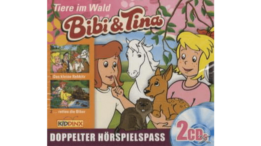 Bibi und Tina - Tiere im Wald (2er Box) - 2 CD - Kinder/Jugend