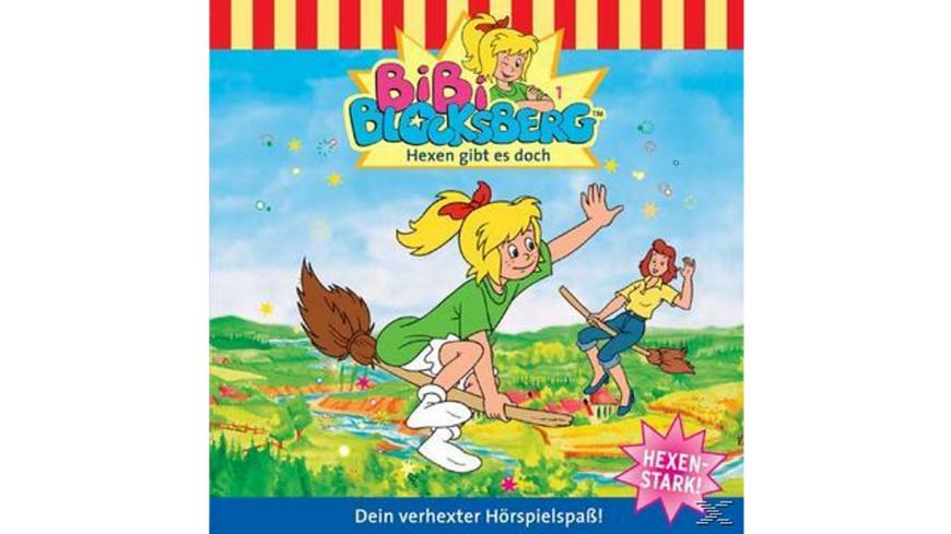 Bibi Blocksberg 01: Hexen Gibt Es Doch - 1 CD - Kinder/Jugend