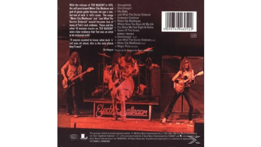 Ted Nugent - TED NUGENT - (CD)