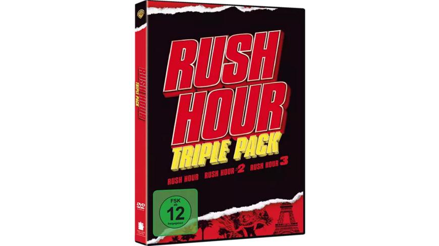 Rush Hour 1-3 - (DVD)