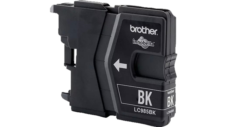 BROTHER Original Tintenpatrone Schwarz (LC-985BK)