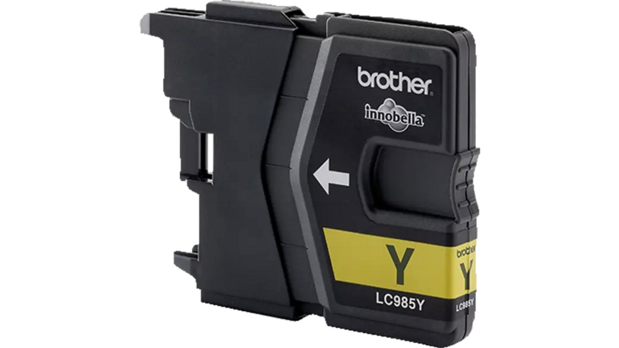 BROTHER Original Tintenpatrone Gelb (LC-985Y)