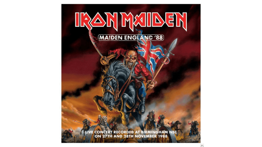 Iron Maiden - Maiden England 88 - (CD)