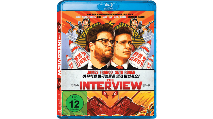 The Interview - (Blu-ray)