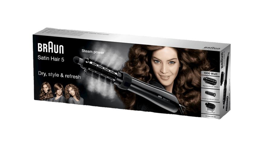 BRAUN Satin Hair 5 AS 530, Lockenstab, 1000 Watt, Schwarz