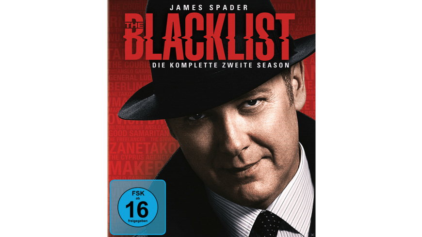 The Blacklist - Staffel 2 - (Blu-ray)