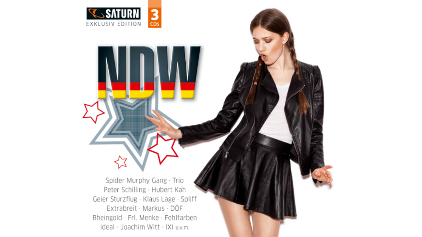VARIOUS - Ndw (Saturn Exclusiv) - (CD)