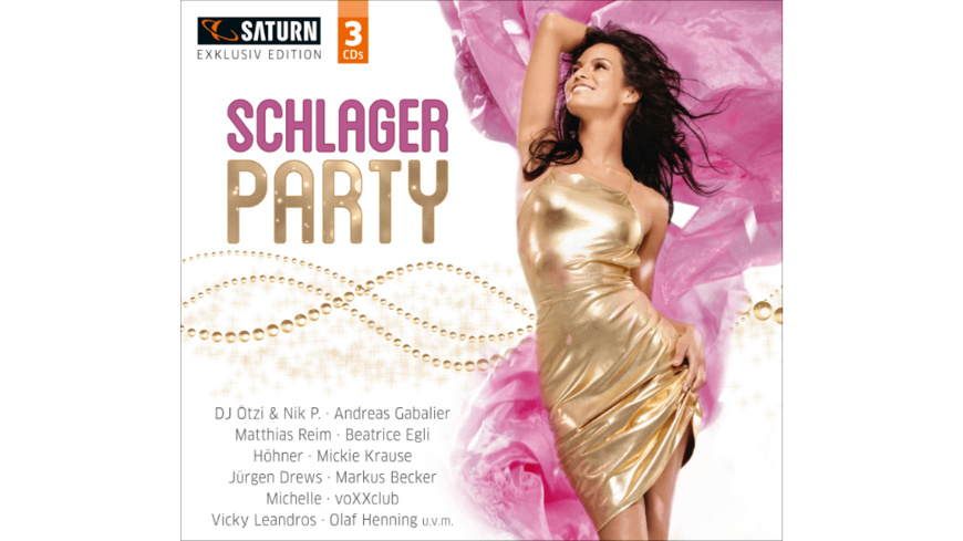 VARIOUS - Schlager Party (Saturn Exclusiv) - (CD)