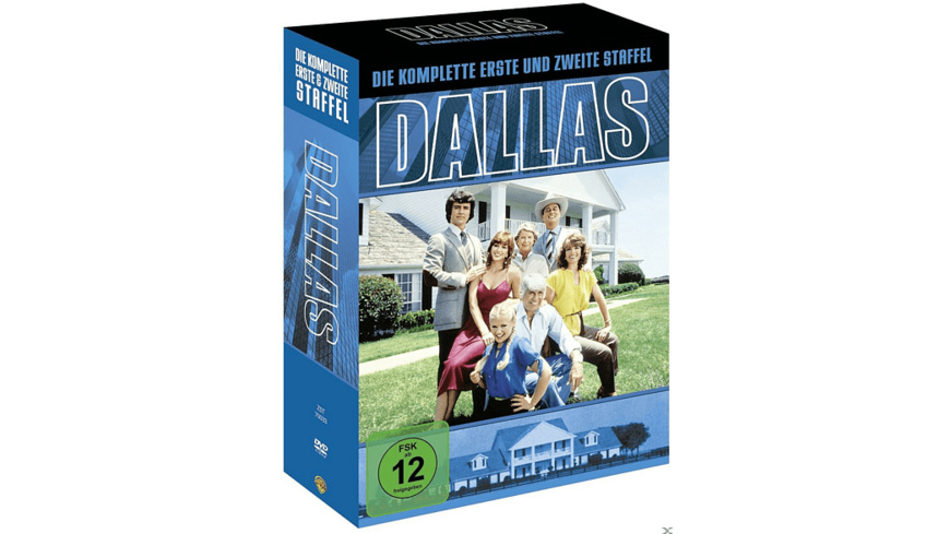 Dallas - Die komplette Staffel 1 & 2 - (DVD)