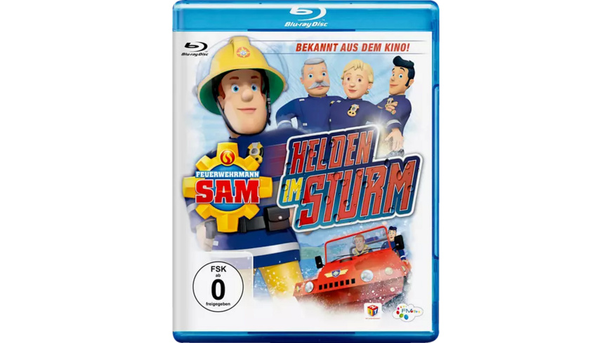 Feuerwehrmann Sam - Helden Im Sturm - Blu-ray - (Blu-ray)