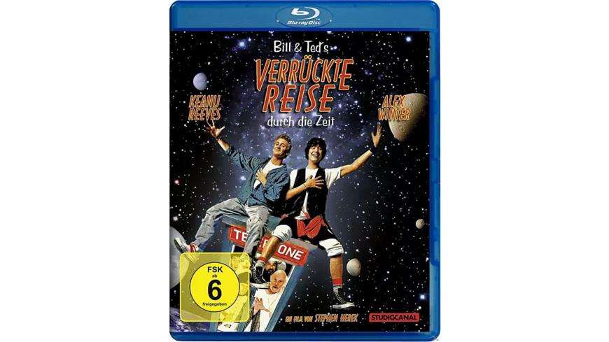 Bill & Ted's verrückte Reise durch die Zeit - (Blu-ray)