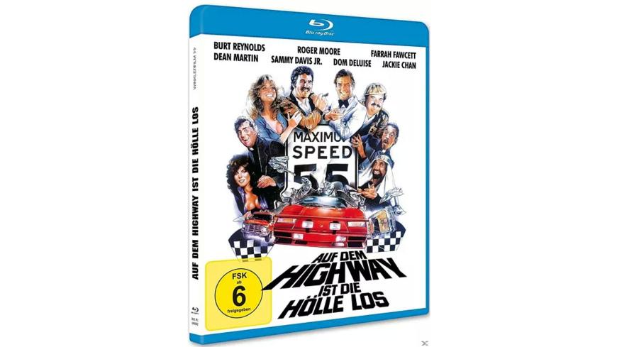 Auf dem Highway ist die Hölle los - (Blu-ray)