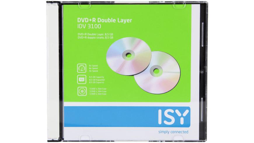 ISY IDV-3100 , DVD+R Double Layer
