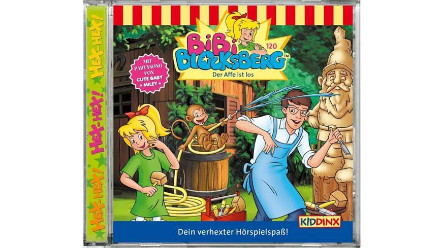 Folge 120: Der Affe ist los! - 1 CD - Kinder/Jugend