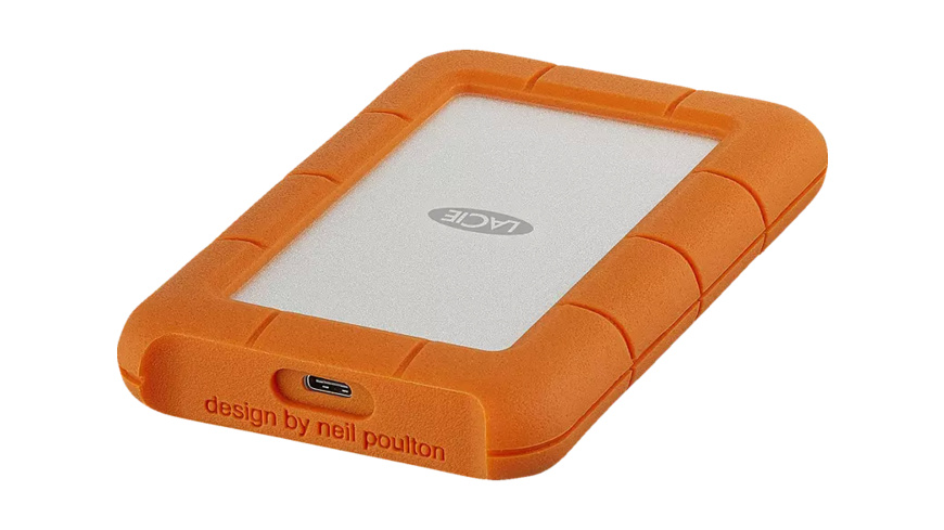LACIE Rugged, 4 TB HDD, 2.5 Zoll, extern