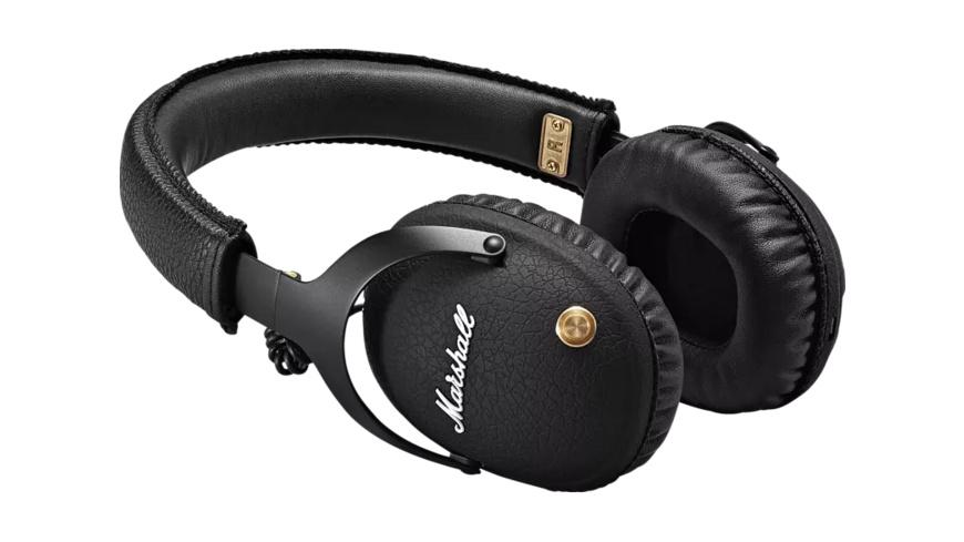 MARSHALL Monitor, Over-ear Kopfhörer, Headsetfunktion, Bluetooth, Schwarz