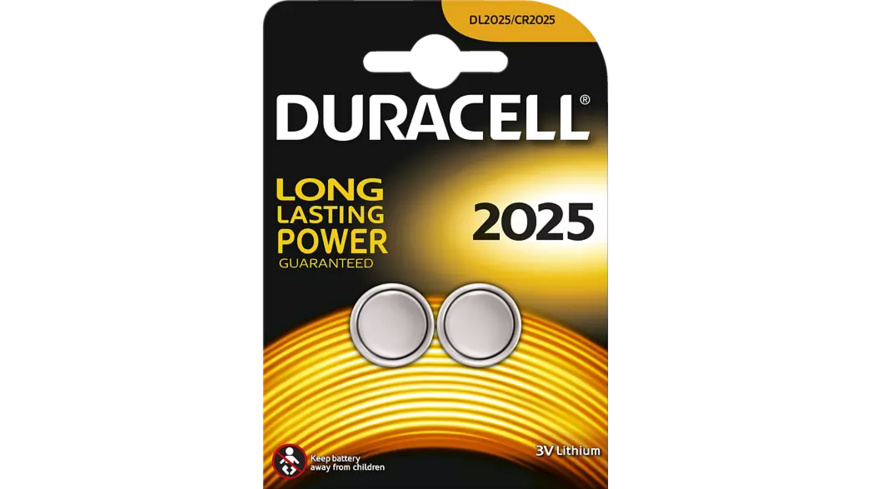 DURACELL Specialty 2025 Knopfzelle, Silber