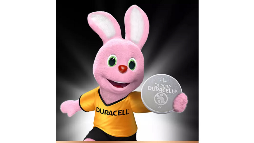 DURACELL Specialty 2032 Knopfzelle, Silber