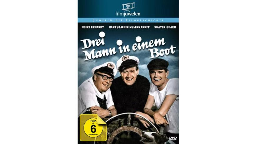 Heinz Erhardt - Drei Mann in einem Boot - (DVD)