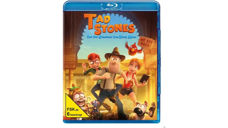 Tad Stones und das Geheimnis von König Midas - (Blu-ray)