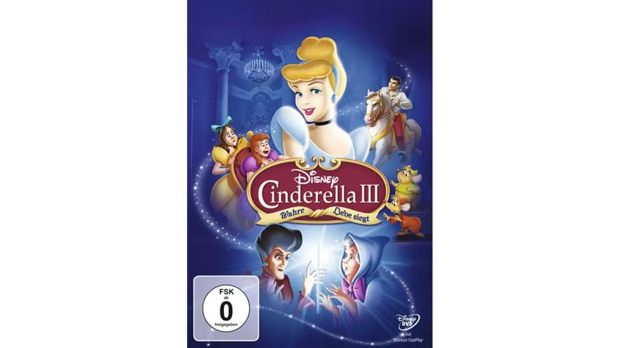 Cinderella 3 - Wahre Liebe siegt (ohne SC Branding)  - (DVD)