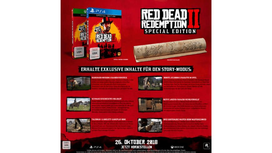 Red Dead Redemption 2 (Special Edition) - PlayStation 4