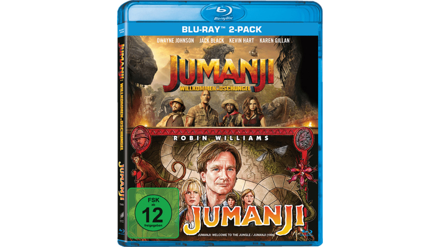 Jumanji: Willkommen im Dschungel & Jumanji - 2-Movie Collection - (Blu-ray)