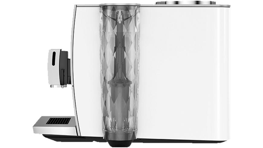 JURA ENA 8, Kaffeevollautomat, 15 bar, Nordic White