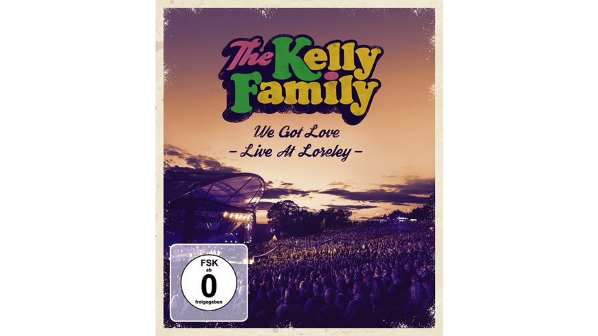 The Kelly Family - We Got Love Live  Loreley - (Blu-ray)