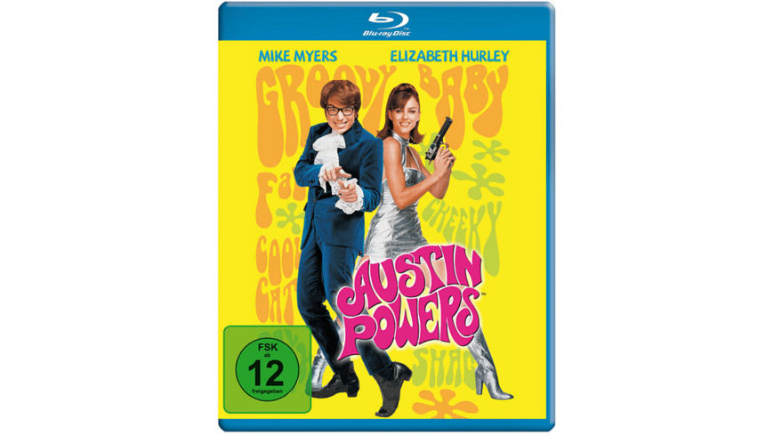 Austin Powers (Blu-ray) - (Blu-ray)