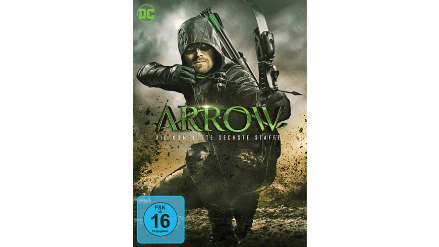 Arrow - Season 6 - (DVD)