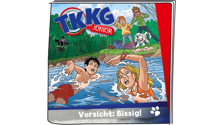 BOXINE Tonie Hörfigur: TKKG Junior - Folge 2 - Vorsicht: bissig! Hörfigur, Mehrfarbig