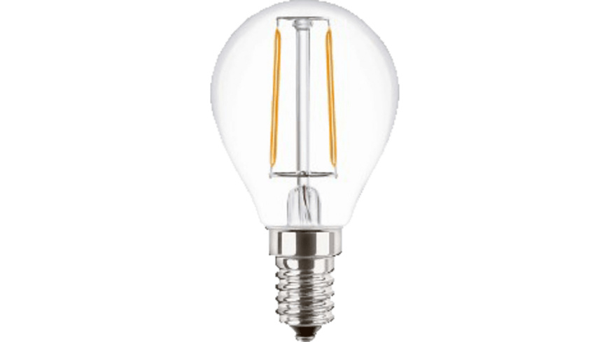 ISY ILE-3104-1 LED Lampe, Transparent/Silver