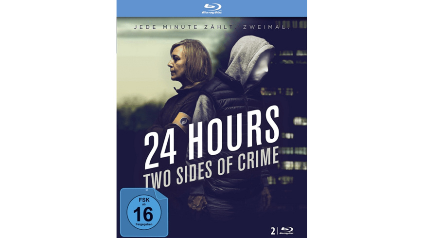 24 Hours-Two Sides Of Crime (Blu-ray) - (Blu-ray)