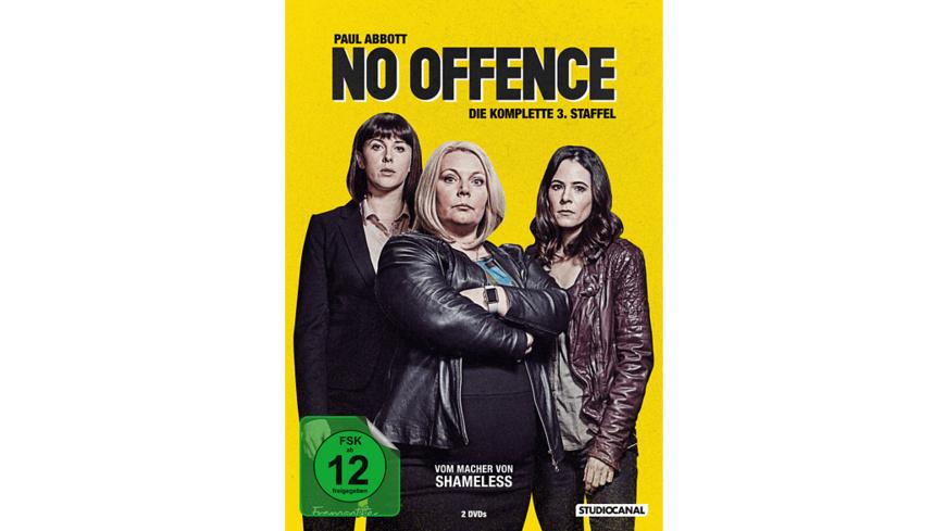 NO OFFENCE 2.STAFFEL - (DVD)