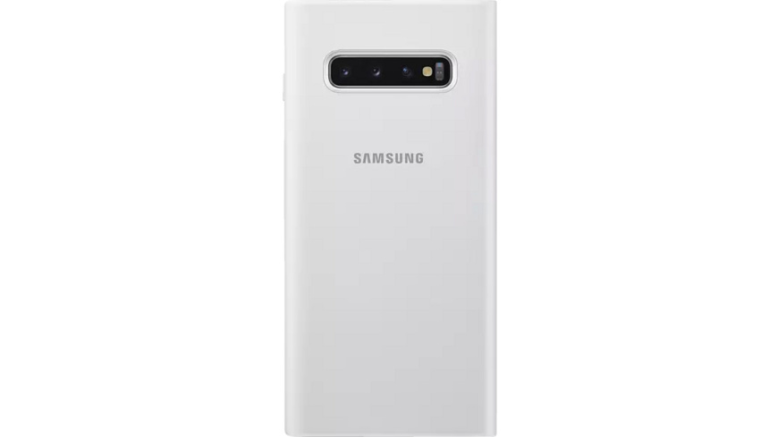 SAMSUNG LED View Cover Handyhülle, Samsung Galaxy S10+, Weiß