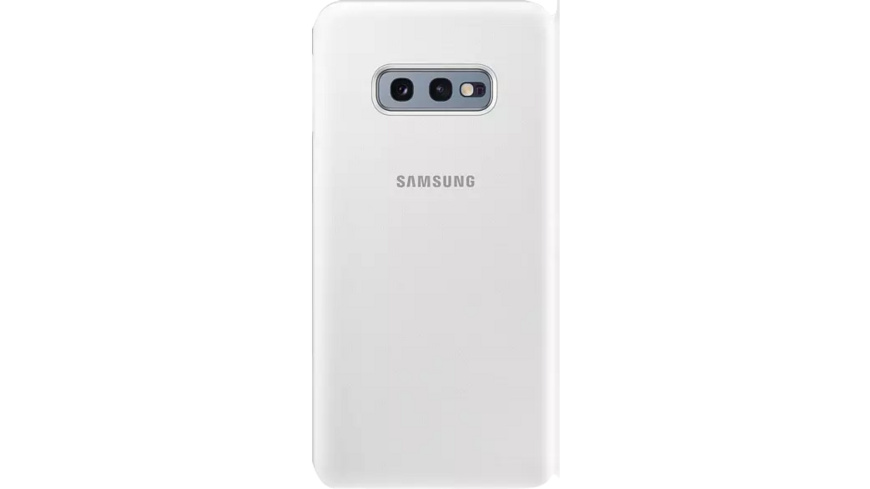 SAMSUNG LED View Cover Handyhülle, Samsung Galaxy S10e, Weiß