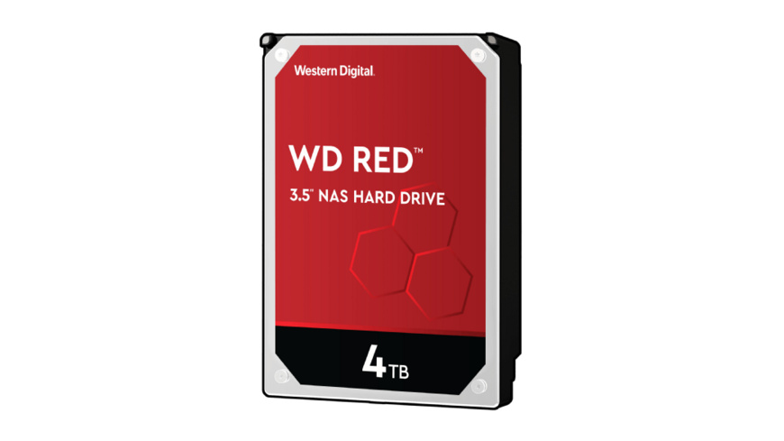 WD Red™, 4 TB HDD, 3.5 Zoll, intern