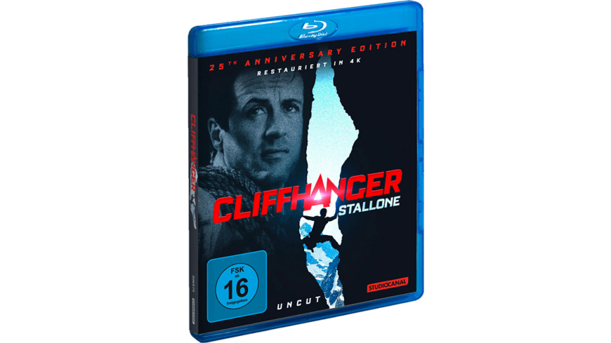 Cliffhanger-25th Anniversary Edition - (Blu-ray)