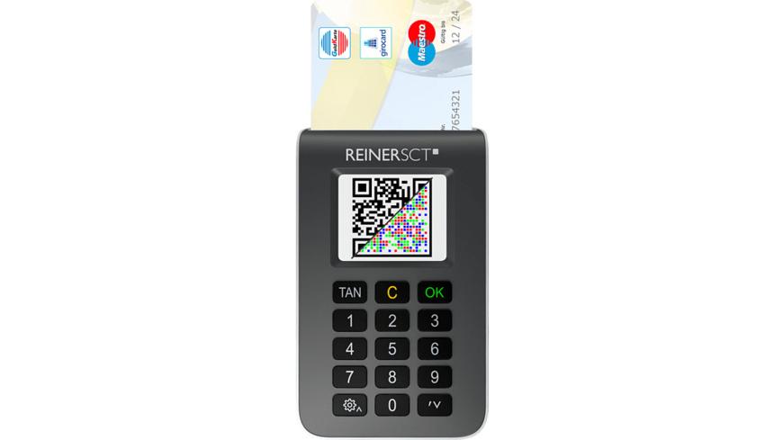 REINERSCT tanJack® photo QR, TAN-Generator